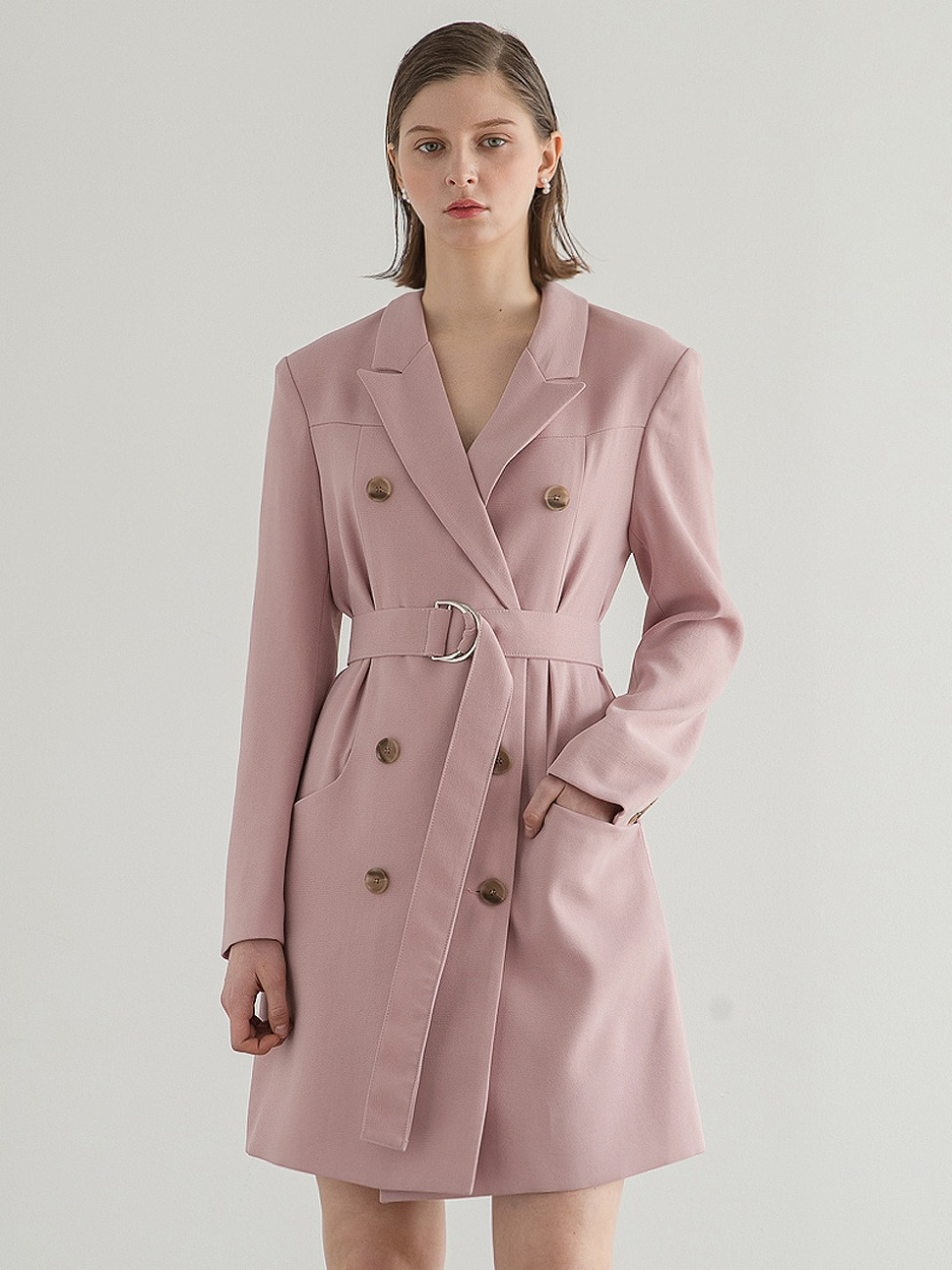 Double Princess Jacket Dress Pink